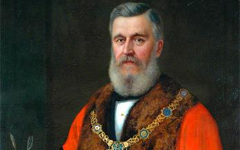 Father of Victorian Harrogate - Richard Ellis (Mayor 1884-1887)