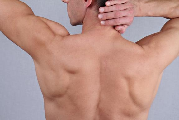 Back and chest wax photo